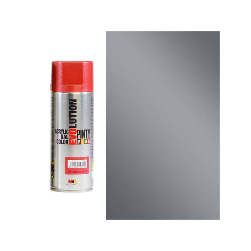 Akrilfesték spray, EVOLUTION metál, 400 ml - M156 szürke