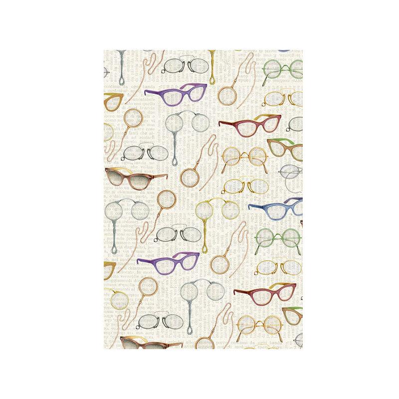 Tassotti decoupage papír - szemüveg