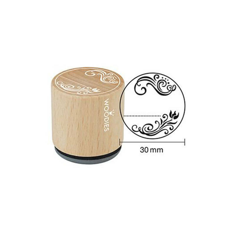 Pecsételő, Woodies, 3 cm, Ornament