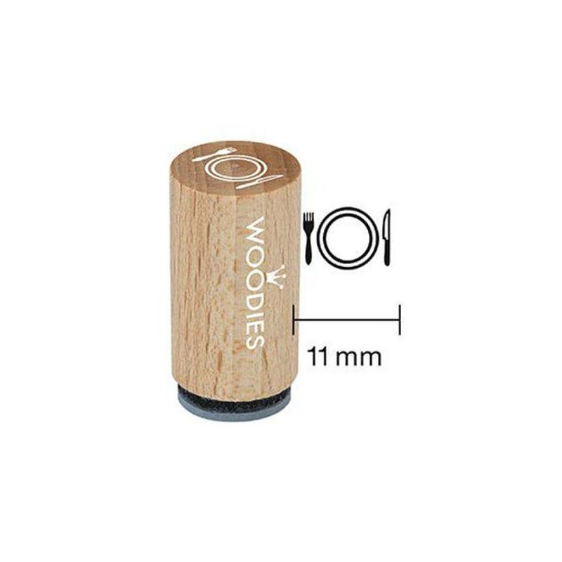 Pecsételő, Woodies, 1,3 cm - Evőeszköz