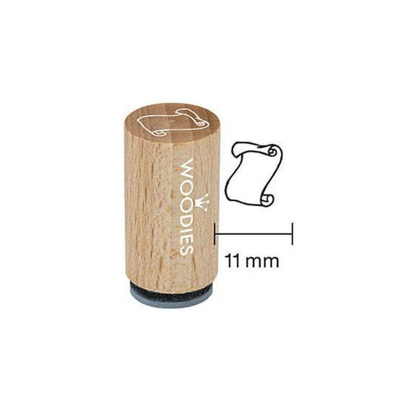 Pecsételő, Woodies, 1,3 cm - Papírtekercs