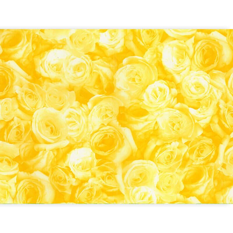 Décopatch papír - rózsa sárga