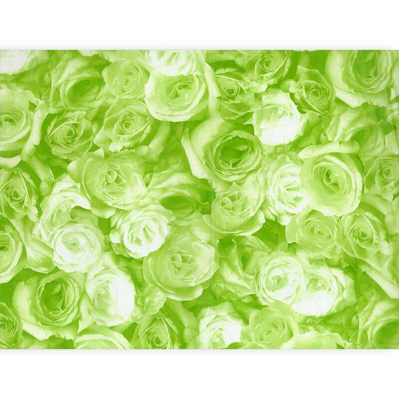 Décopatch papír - rózsa zöld