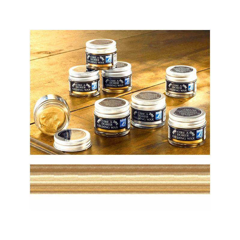 Gilding Wax aranyozó viasz, 30 ml - világos arany