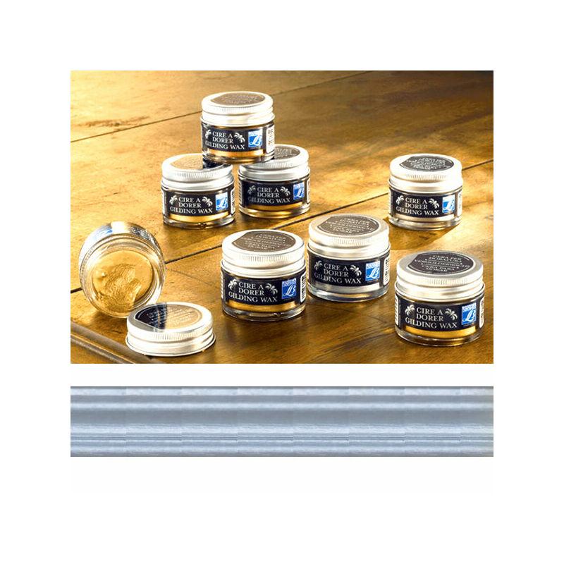 Gilding Wax aranyozó viasz, 30 ml - ezüst