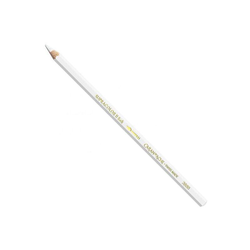 Caran d'Ache Supracolor Soft akvarellceruza - 001, white
