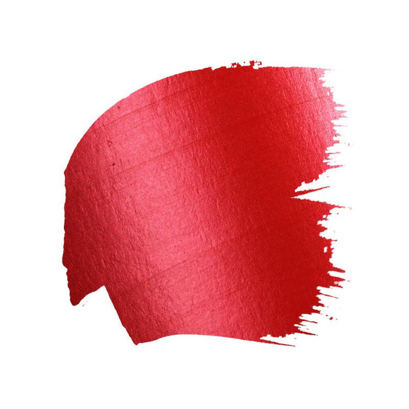 Deka Color Metallic metál akrilfesték 25 ml - 19 piros