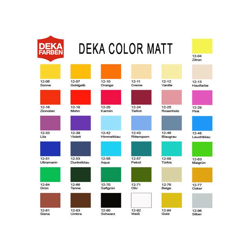 Deka Color Matt akrilfesték 25 ml - 92 fehér
