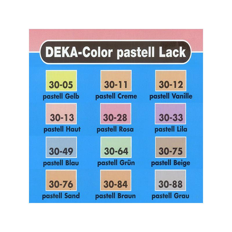 Deka Color pasztell lakk fényes akrilfesték 25 ml - 75 pasztellbézs