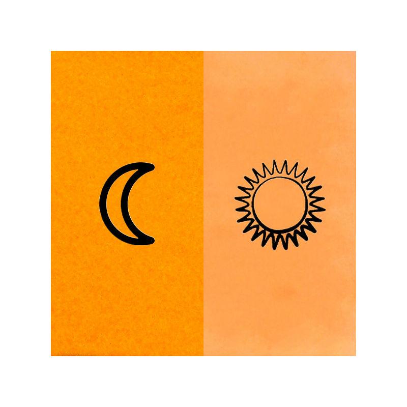Deka Color Disco sötétben világító festék - 10 narancs