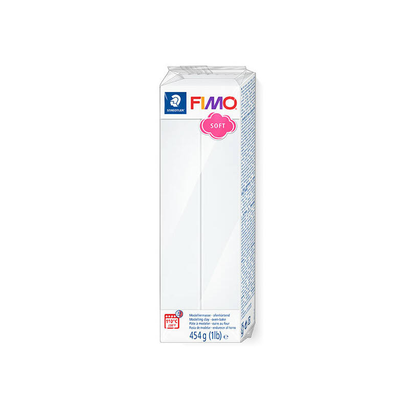 FIMO Soft süthető gyurma, 454 g - fehér 8021-0
