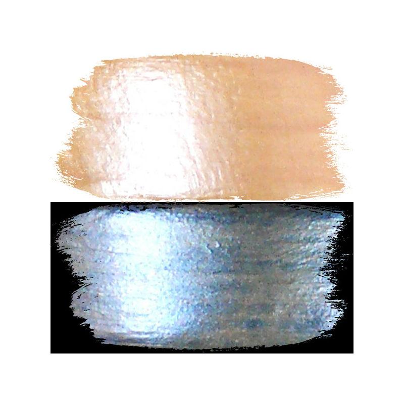 Hobbyművész akrilfesték, 40 ml - bicolor, 105, aranysárga/kék