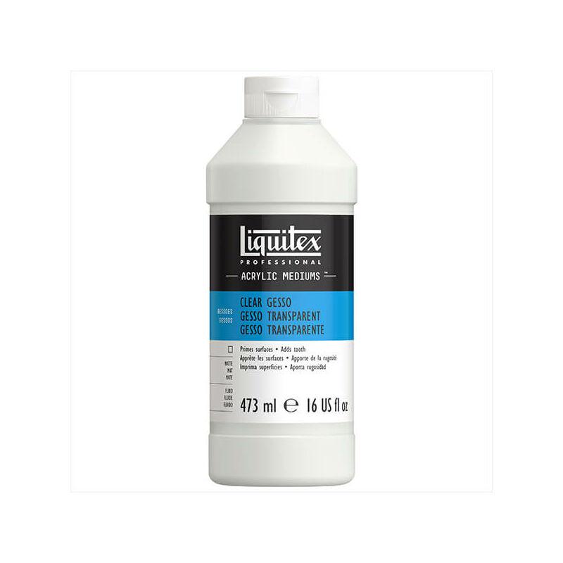 Liquitex Gesso alapozó, 473 ml - színtelen