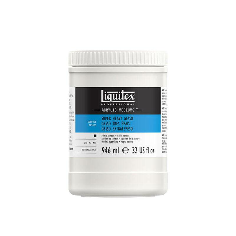 Liquitex Gesso alapozó, 946 ml - super heavy