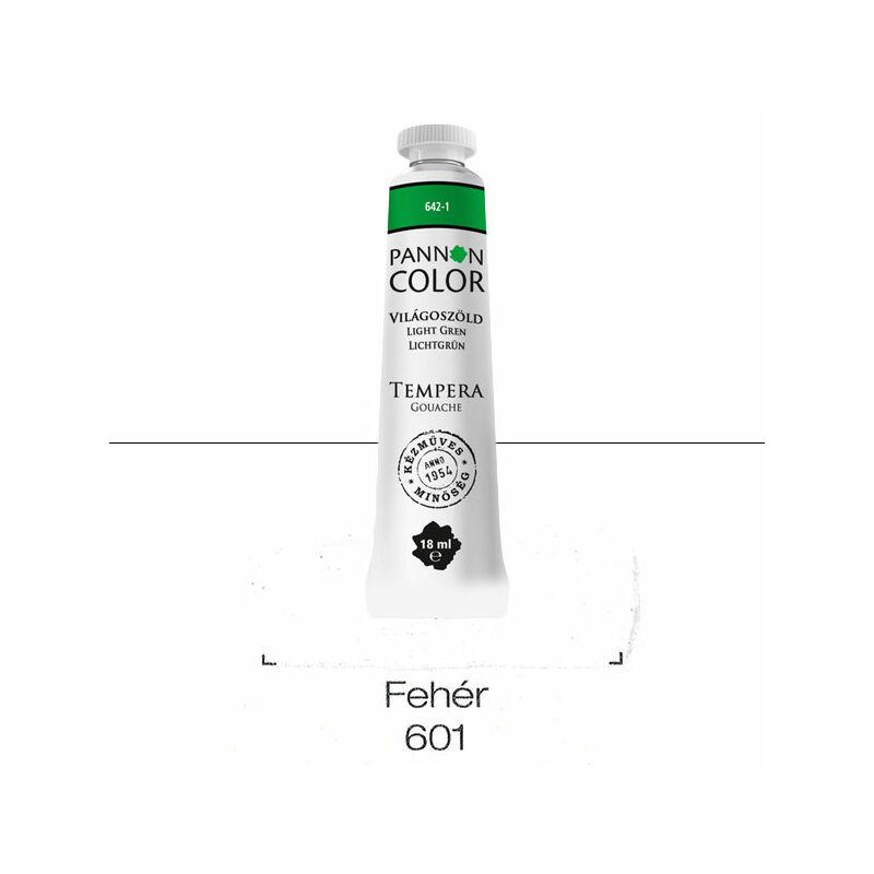 Pannoncolor gouache tempera, 18 ml, 601 - fehér
