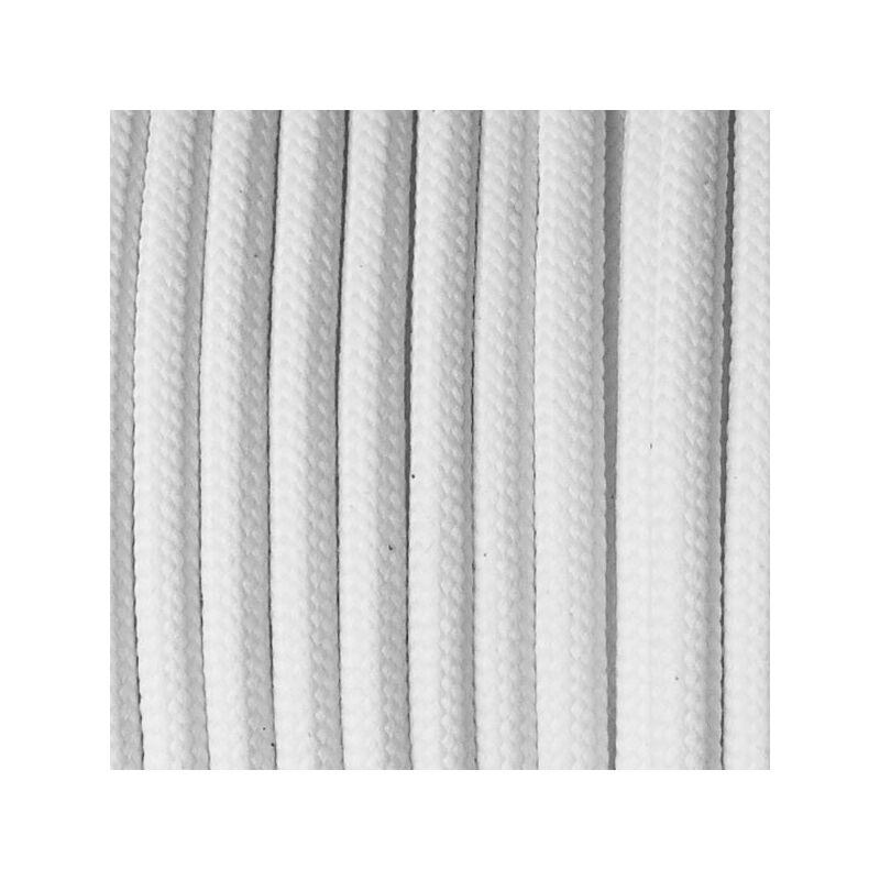 Paracord 550, méterben, 4 mm - fehér