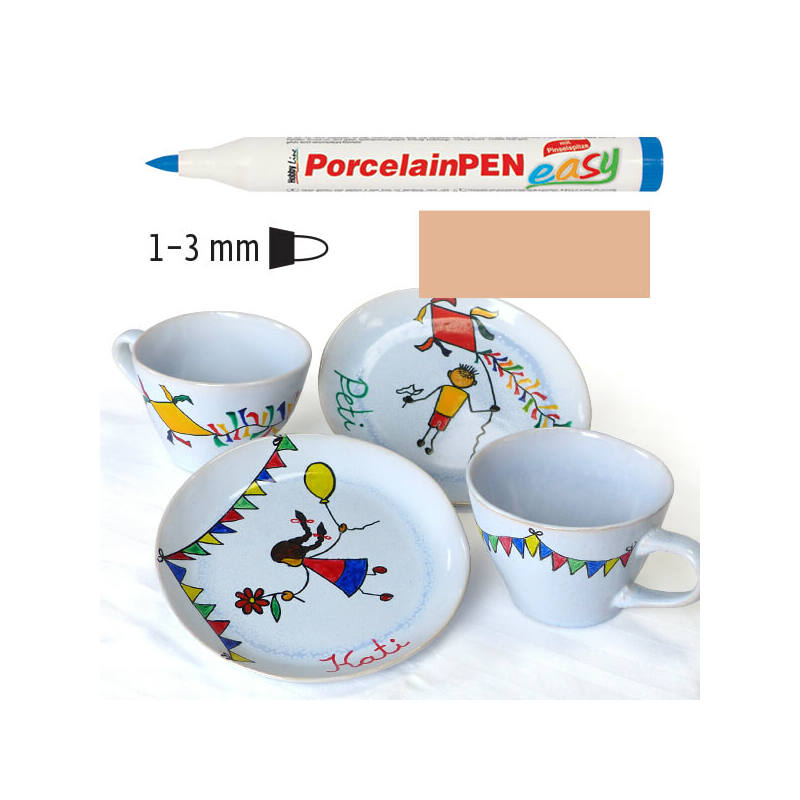 Porcelánfilc, HobbyLine Easy - krém, 16328