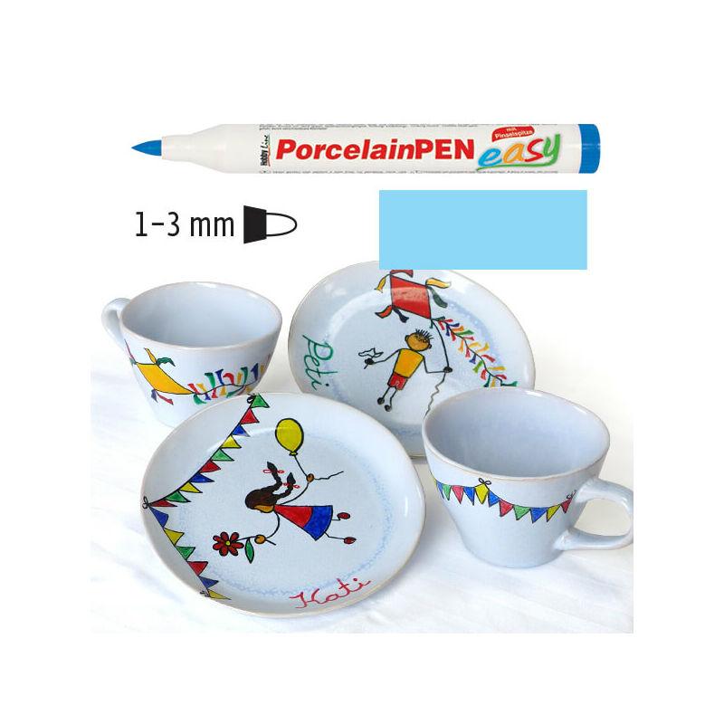 Porcelánfilc, HobbyLine Easy - világoskék, 16320