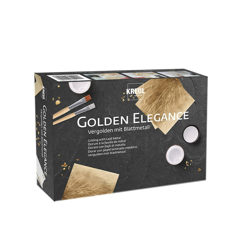 Kreul Golden Elegance aranyozó készlet