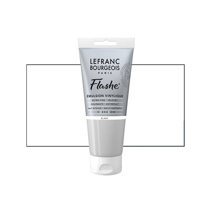 L&B Flashe vinil festék (akrilfesték), 80 ml - 022, white