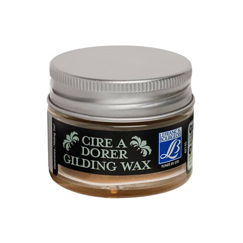 L&B Gilding Wax aranyozó viasz, 30 ml - renaissance