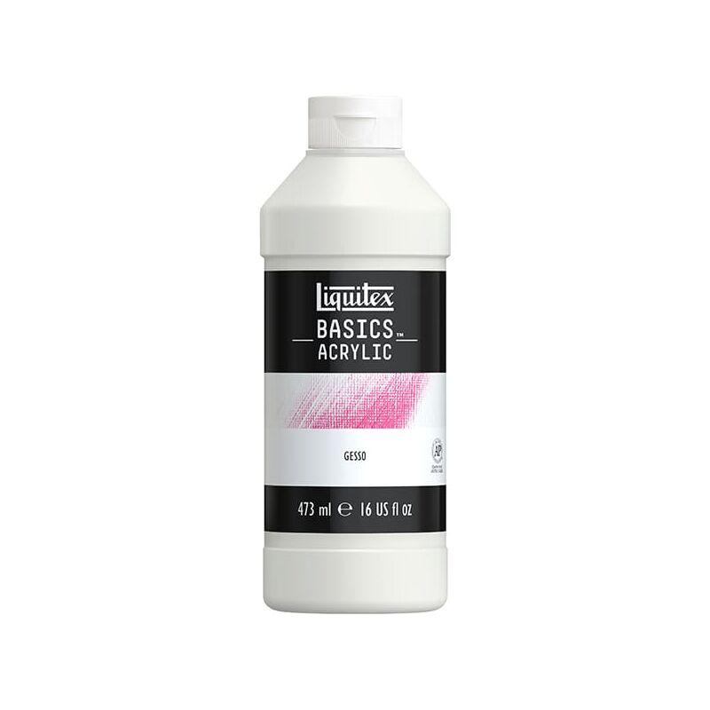 Liquitex Basic Gesso alapozó, 473 ml